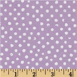 Confetti Dot Lilac Fabric
