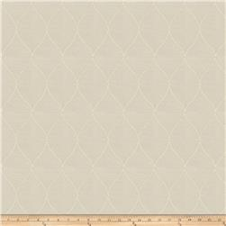 Fabricut  Embroidered Marvette Sheers Ivory