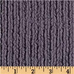 Minky Chenille Soft Cuddle Graphite