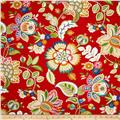 Tempo Indoor/Outdoor Floral Red