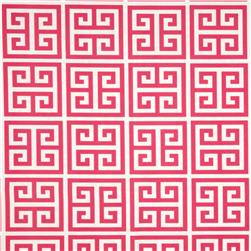 Premier Prints Indoor/Outdoor Towers Preppy Pink Fabric