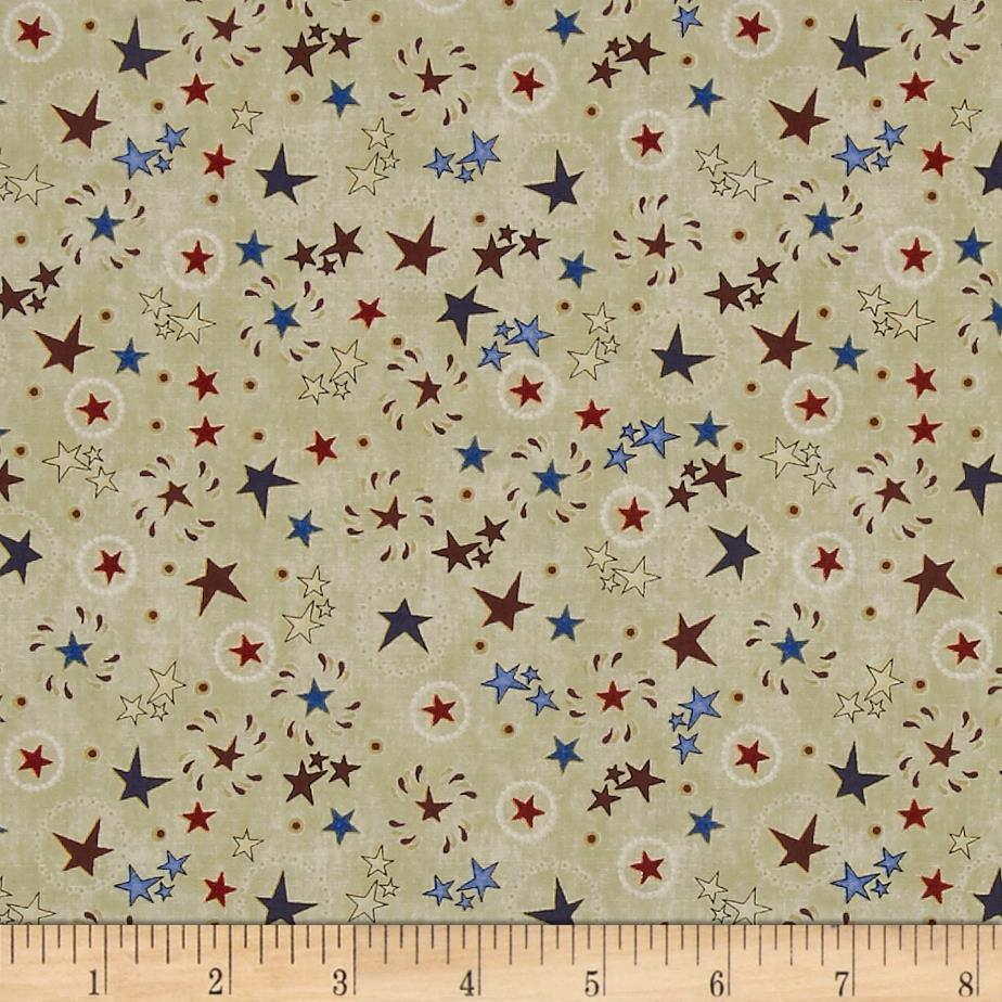 Stars & Stripes Forever Star & Circle Toss Parchment