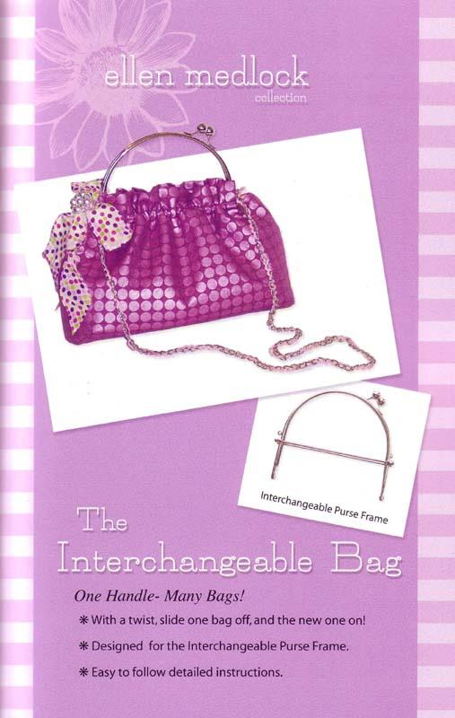 Ellen Medlock The Interchangeable Bag Pattern, Frame &