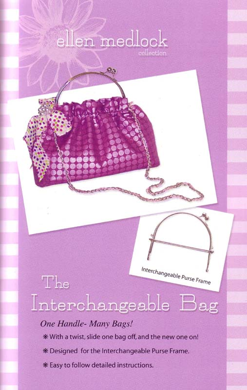 Ellen Medlock The Interchangeable Bag Pattern Frame &
