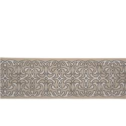 "Fabricut 3"" Sarai Trim Granite"