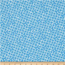 Contempo Butterfly Effect Circles Blue
