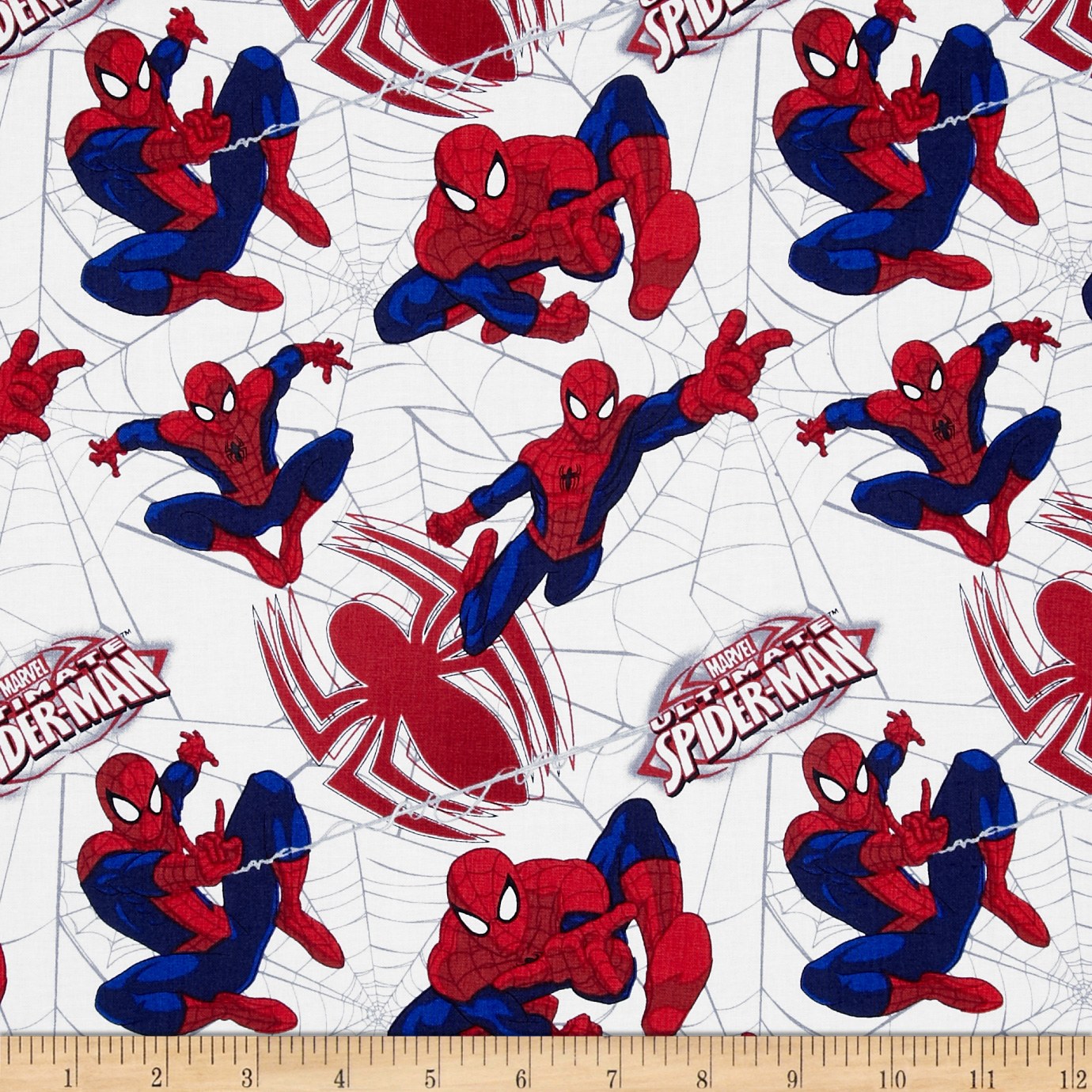 Marvel Ultimate Spiderman Spidey's Web White