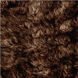 Faux Fox Fur Brown/Tan