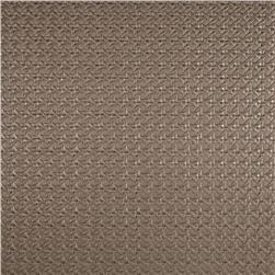 Luxury Faux Leather Rattan Silver