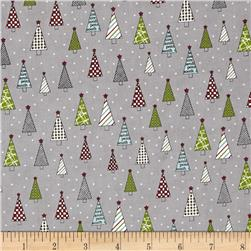 Moda Holly's Tree Farm The Forest Graphite
