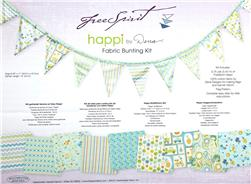 Happi Boy Fabric Bunting Kit