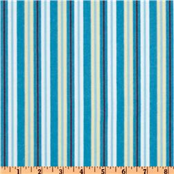 Poky Little Puppy Flannel Stripes Blue