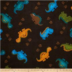 Fleece Dinosaur Brown