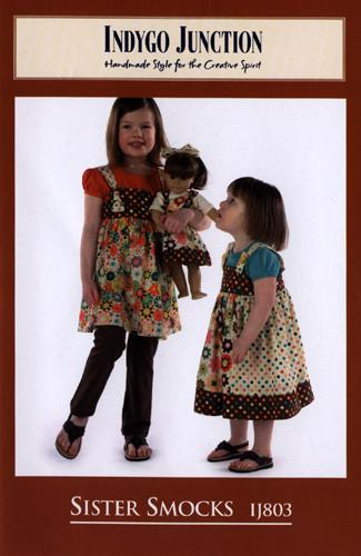 Indygo Junction Sister Smocks Pattern