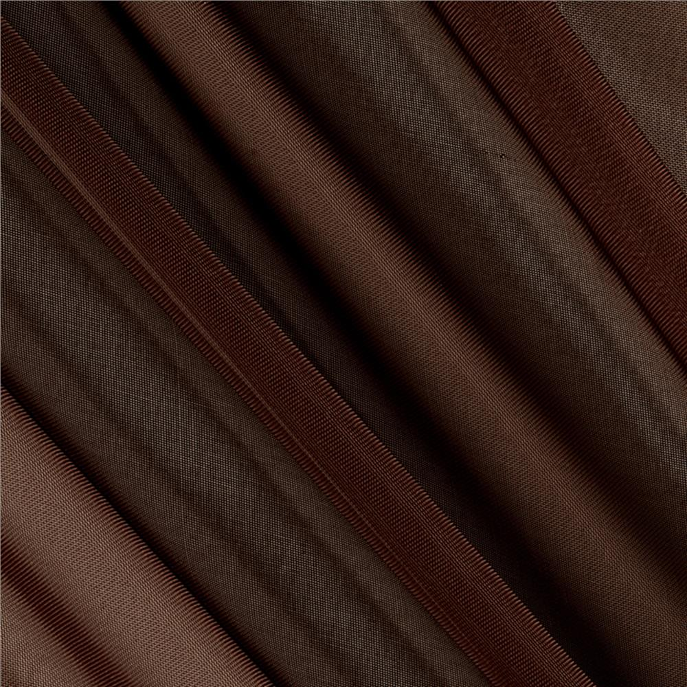 "120"" Sheer Voile Brown"