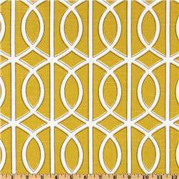 Dwell Studio Bella Porte Slub Citrine Fabric