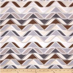 Robert Kaufman Vantage Point Wavy Stripe Earth