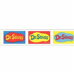 "7/8"" Dr. Seuss Logo Ribbon Multi"