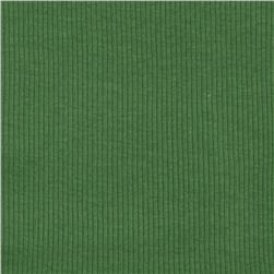 Cotton Rib Knit Green