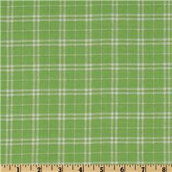 A E Nathan Plaid Green