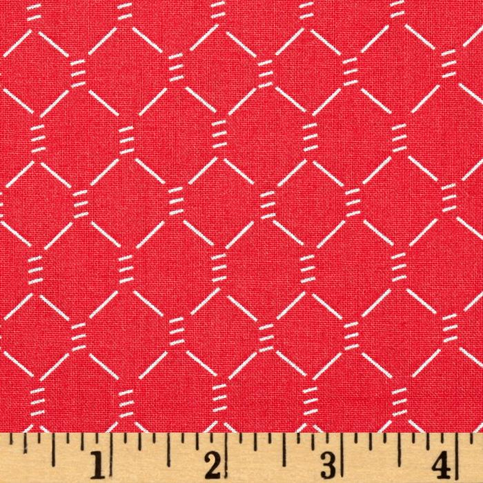 E-I-E-I-O Chicken Wire Red