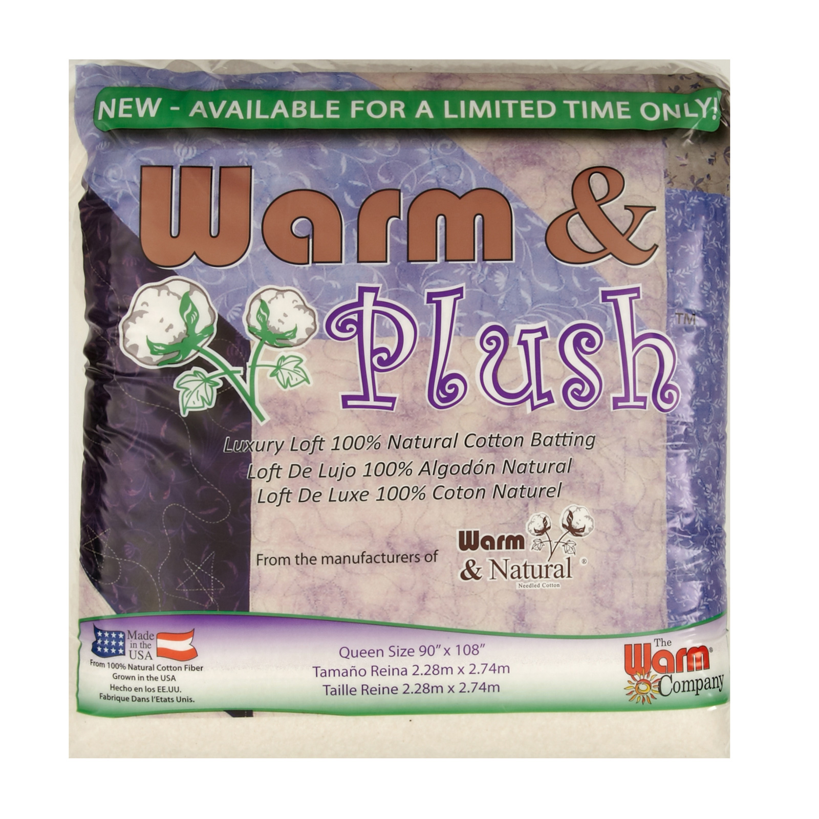 Warm & Plush Queen Size ( 90'' x