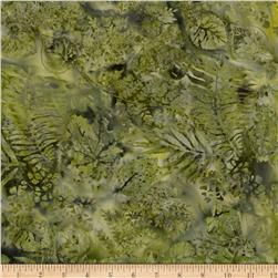 Island Batik Sweet Georgia Peach Fern Green