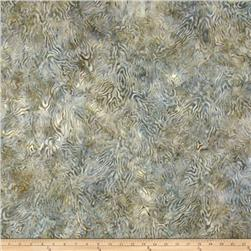 Batavian Batiks Rippled Reflections Ivory/Gray