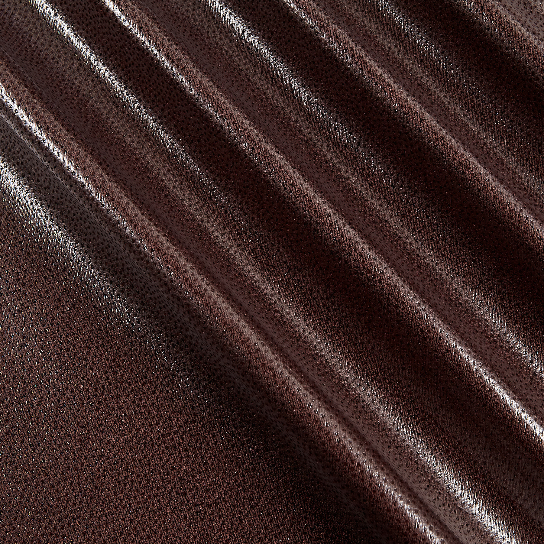Image of PUL (Polyurethane Laminate) 1 Mil Dark Brown Fabric