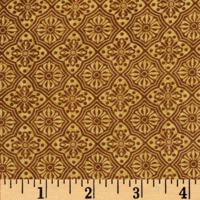 Autumn Abundance Medallion Ochre