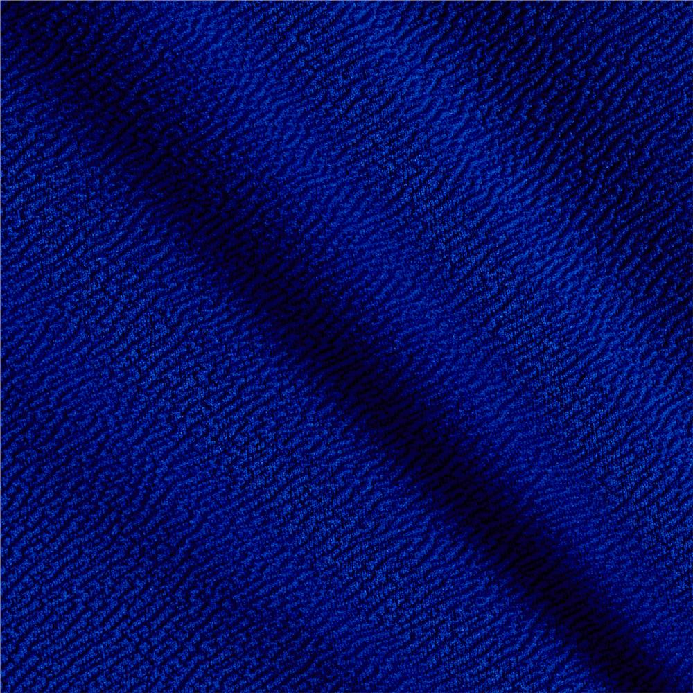 Liverpool double knit solid royal discount designer for Apparel fabric
