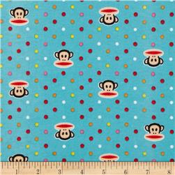 Paul Frank Julius Interlock Knit Fun Dots Turquoise
