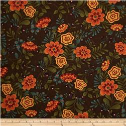 Moda Perfectly Seasoned Large Floral Bark
