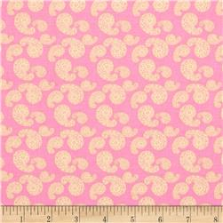 Merry Go Round Paisley Powder Lilac Fabric