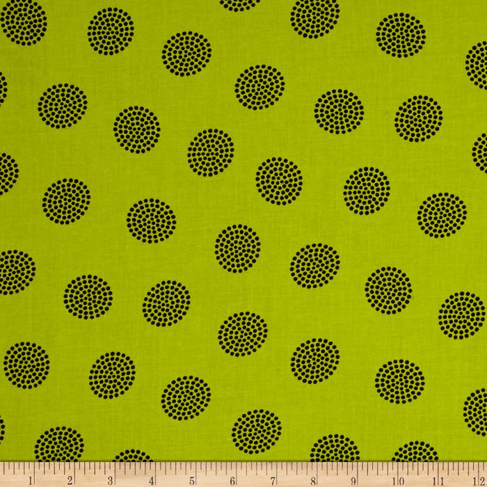 Go Big or Go Home Dot Cluster Pea Green