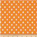 Tangier Ikat Diamond Orange