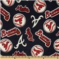 MLB Fleece Atlanta Braves Toss Blue/Red