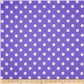 RCA Polka Dots Blackout Drapery Fabric Purple
