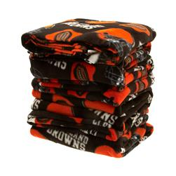 Three Pound NFL Fleece Remnant Bundle Cleveland Browns