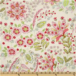 Pretty Little Things Emma Floral Cream Fabric