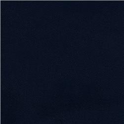 Kaufman Stretch Twill 8.5 Oz Navy Fabric