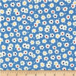 Moda Fresh Air Spiky Flower Blue