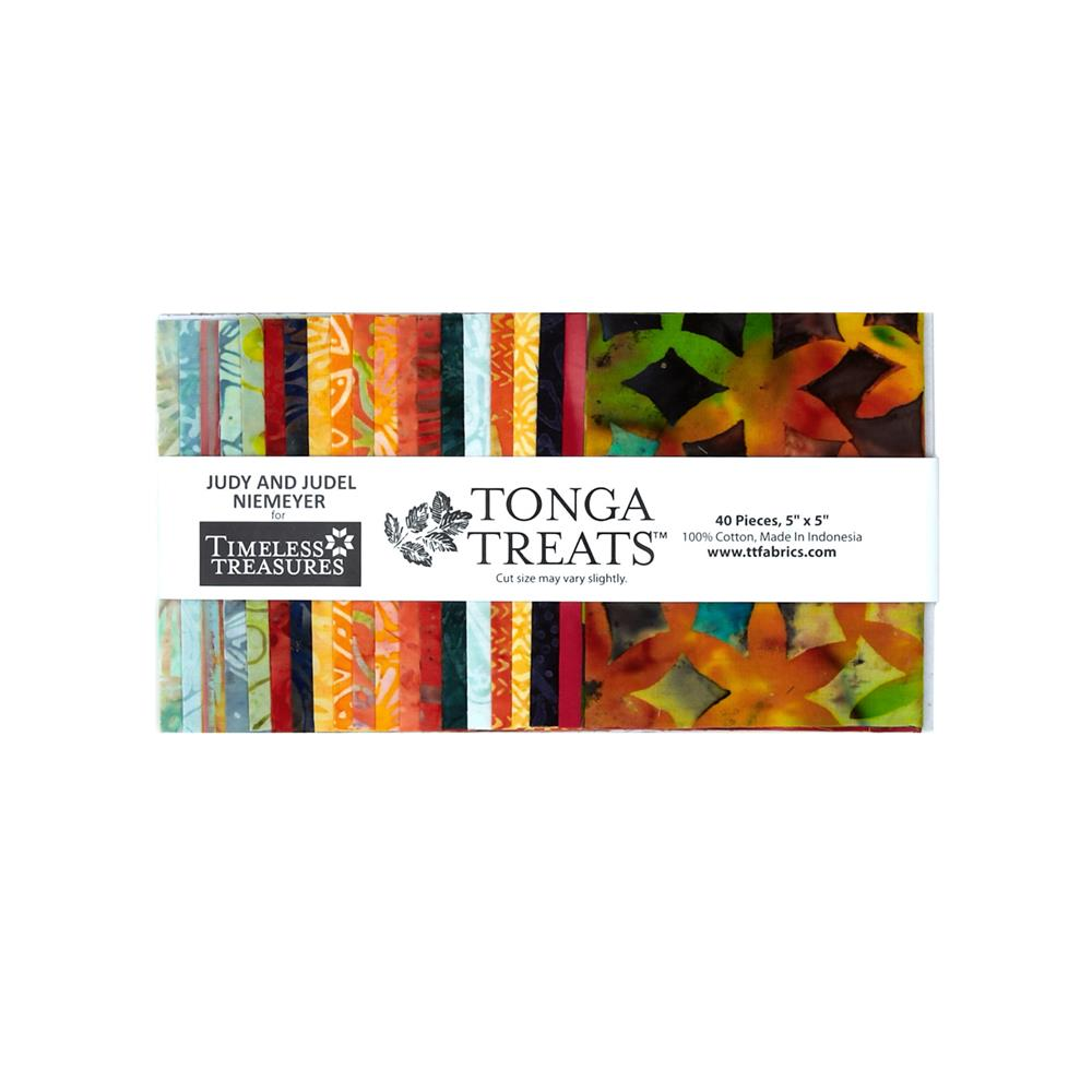 Timeless Treasures Tonga Batik Treats Birds of Paradise