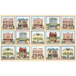 Old Town Shops Panel Cream