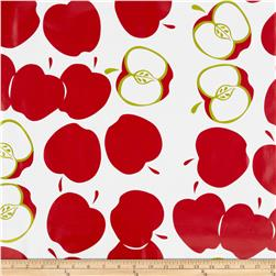 Oil Cloth Solvang Red Fabric