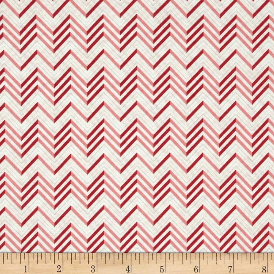 Lovebirds Chevron Pink