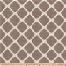 Fabricut  Embroidered Assurance Greystone