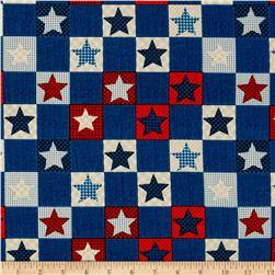 Americana Star Patchwork Multi