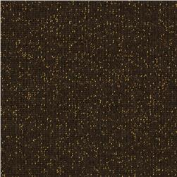 Sparkle Stretch Hatchi Knit Brown/Gold