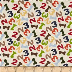 Jungle 1,2,3 Toss Numbers Cream